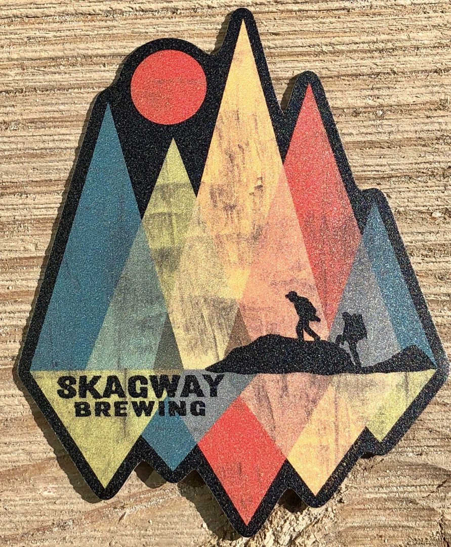 Shard Mountain Sticker