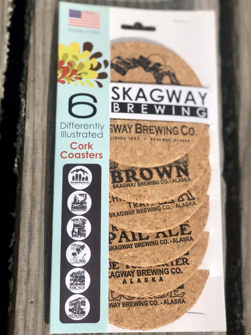Skagway Brewing Coasters