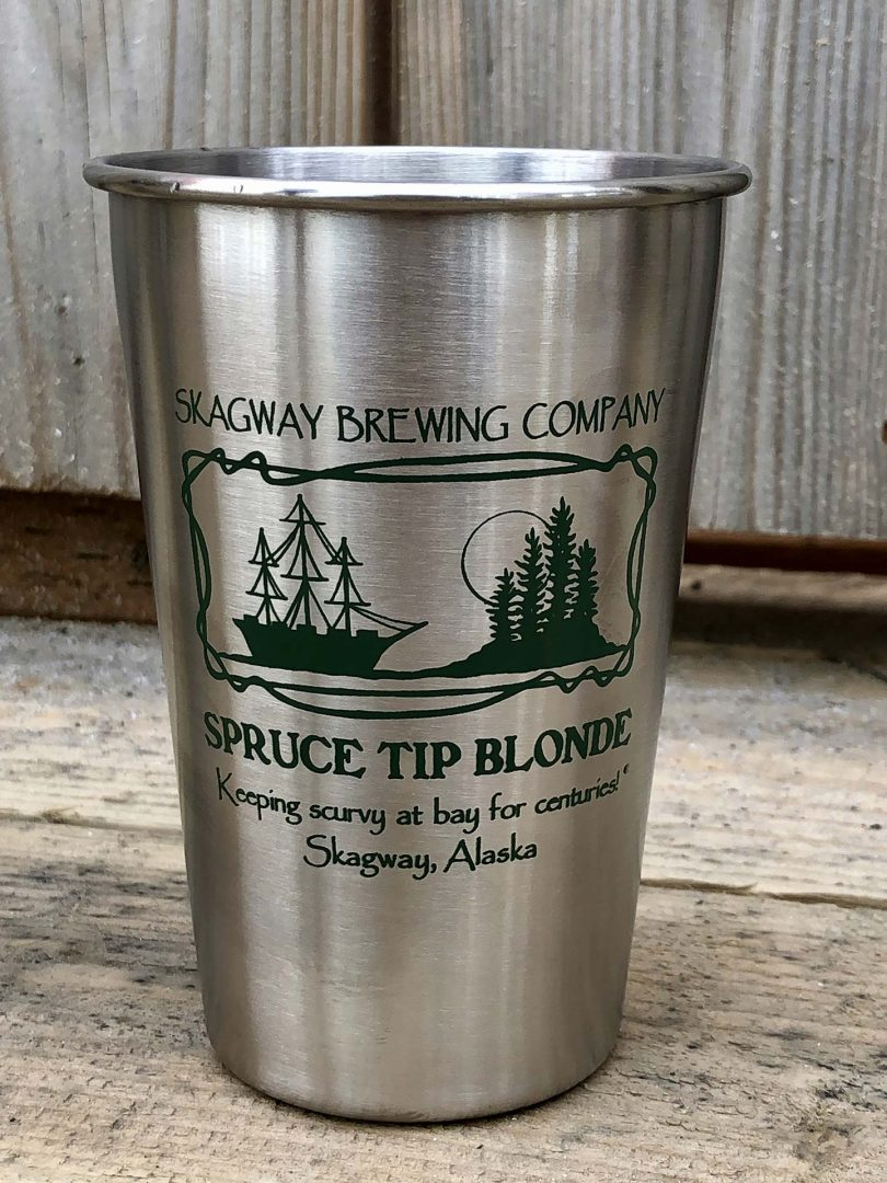 Spruce Tip Stainless Pint