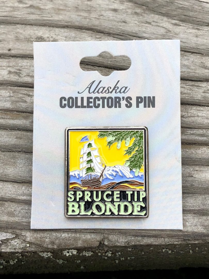 Spruce Tip Blonde Pin