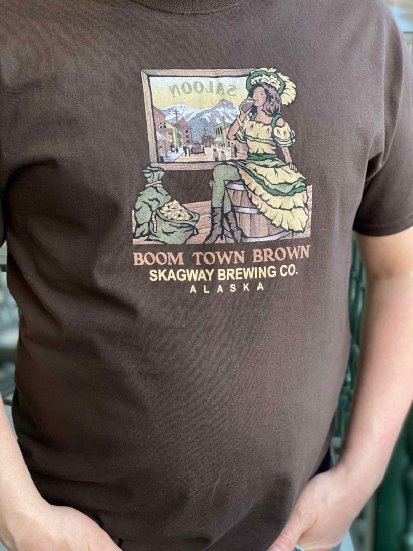 Boom Town Brown Tee