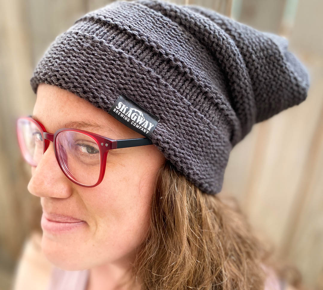 Ladies Patch Beanie
